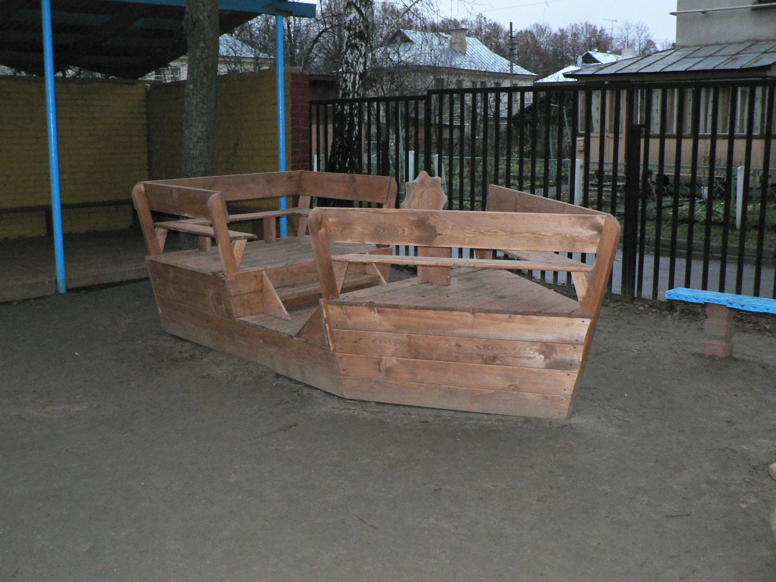 Кораблик своими руками из дерева для детской площадки своими руками фото